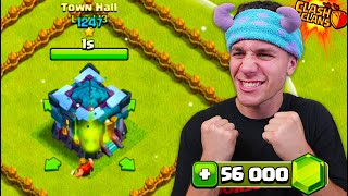 GEMMING TO THE NEW TOWN HALL 13 in Clash of Clans!