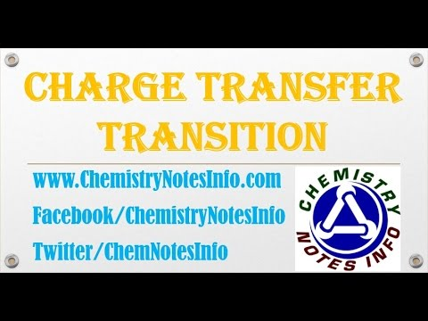 Chemistry of Charge Transfer Transition
