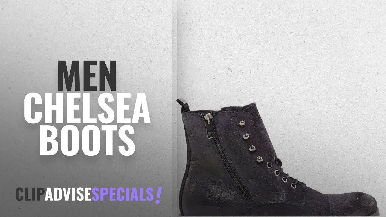 485e3cb7f2e Diesel Chelsea Boots [ Winter 2018 ]: Diesel Men's D-Kallien Fashion Ebony  Suede/Leather Boots Shoes