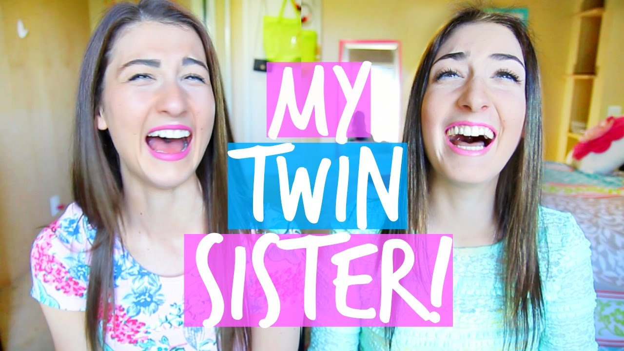 meet my twin sister twin tag maybaby youtube