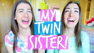 Meet My Twin Sister! Twin Tag | MayBaby Thumbnail