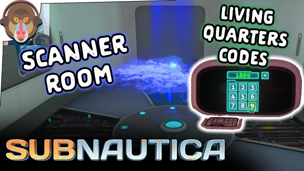 living quarters codes and scanner room subnautica let 39 s play part 8 full release youtube. Black Bedroom Furniture Sets. Home Design Ideas