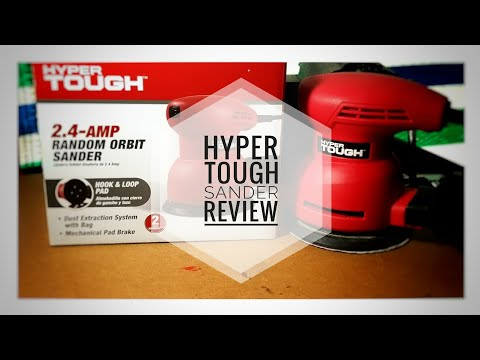 Hyper Tough Orbit Sander Review (unboxing)