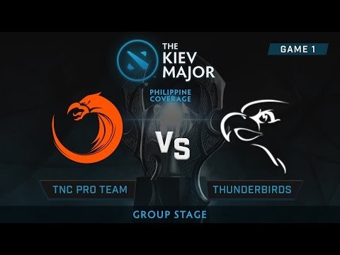 TNC Pro Gaming vs Thunder Birds | Kiev Majors : Group Stage | Philippine Coverage | Game 1