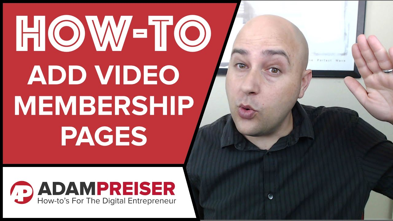 How to Add Secure Video To Membership Sites - Wistia Alternative Vimeo