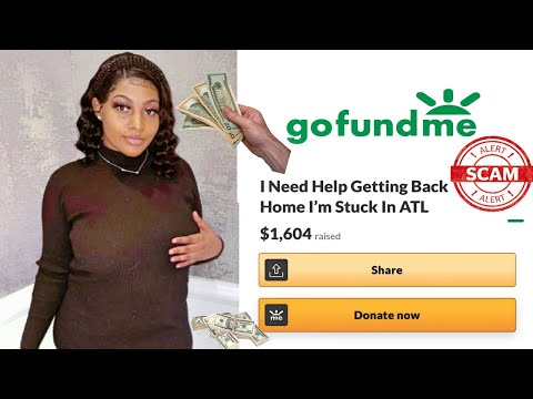 IG Model Stranded In Atlanta Who Set Up GoFundMe Exposed.