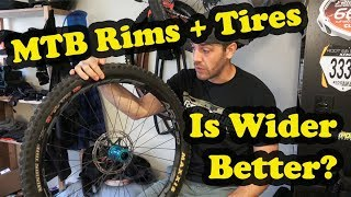 Mountain Bike Rims and Tires | Is Wider Better? | Starring: November Bicycles