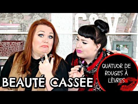 Beauté Cassée : Les cosmétiques du Dollarama mis au test! /Quatuor de rouges à lèvres Mariposa