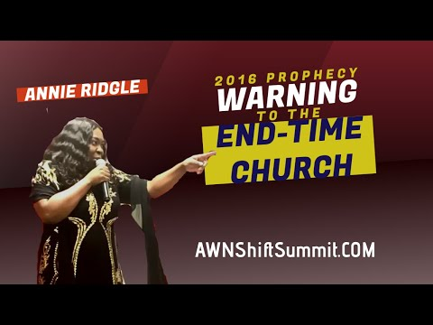 Prophecy about EndTimes 2016 Presidental Election- Warning for Church