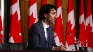 """Trudeau fordert Amerika auf, im Klimaschutz """"Teil der Lösung, nicht des Problems"""" zu sein"""