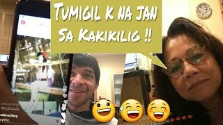 Wil Dasovich Overly Misses Alodia ( Charry Daso's IG live ~ Mail Time !! )