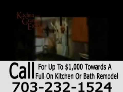 Kitchen Granite Expo Bathroom Remodel Alexandria Va Youtube