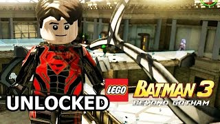 LEGO Batman 3: Beyond Gotham - How to Unlock Superboy
