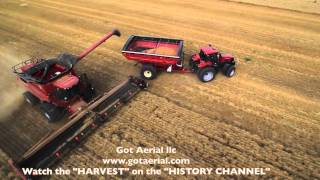 "The "" HARVEST "" show on the "" HISTORY CHANNEL""  Aerial Video by Got Aerial llc. www.gotaerial.com"