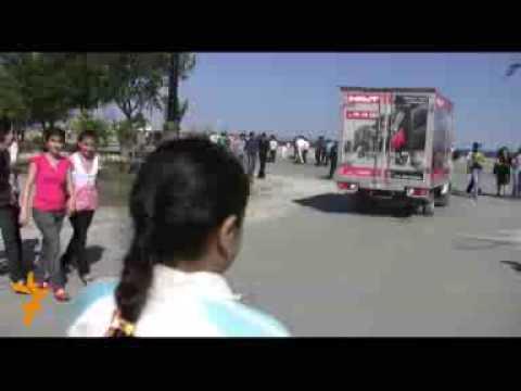 Azerbaijan video from www.azadliqradiosu.az Baku Bulvar