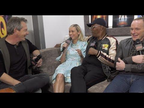 Brie Larson and Samuel L. Jackson explain how 'Captain Marvel' fits into the big picture