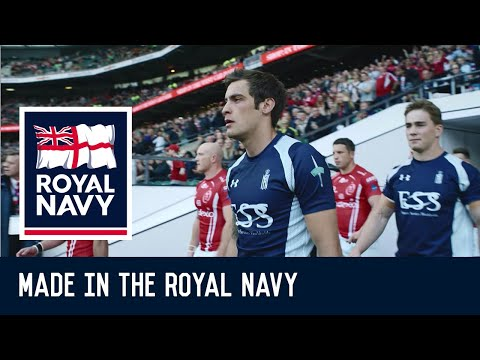 Made in the Royal Navy - Gareth's story