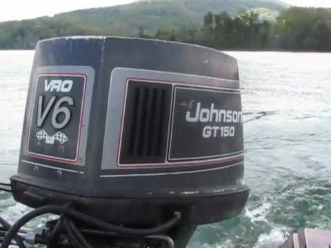 Procraft dc 1780 bass boat johnson outboard gt150 sold for Buy bass boat without motor