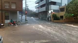 Tormenta en Córdoba el 25 de enero de 2019