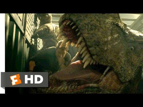 Jurassic World: Fallen Kingdom (2018) - T-Rex Blood Transfusion Scene (6/10) | Movieclips