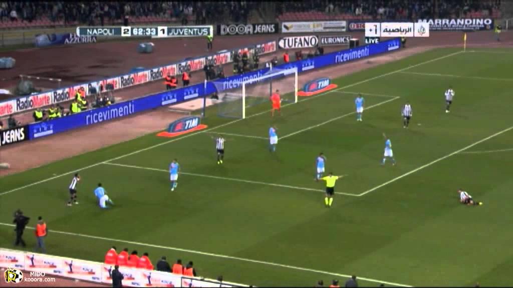 Napoli VS Juventus 2st Highlights - YouTube