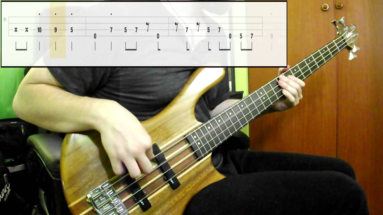 red hot chili peppers otherside bass cover play along tabs in