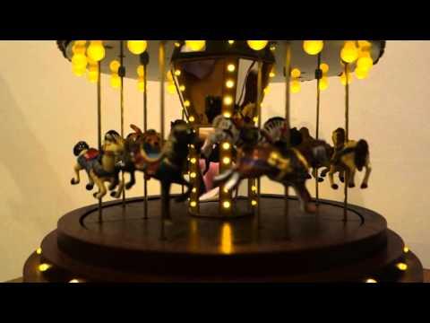 mr christmas carousel 2 holiday music box