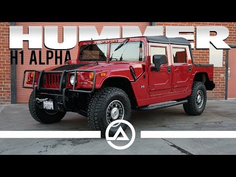 2006 Hummer H1 Alpha  Best Vehicle for the Zombie Apocalypse?