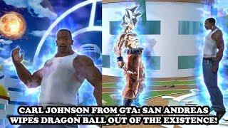 carl johnson cj destroys dragon ball xenoverse 2 ultimate battle of century xv2 mods