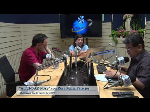 A pensar más con Rosa María Palacios 16 de enero de 2019