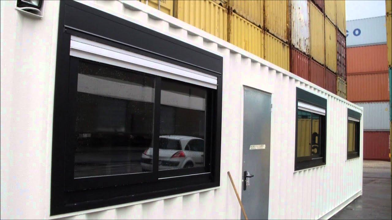 Transformer Container En Maison en ce qui concerne box innov - base vie en conteneurs maritimes - youtube