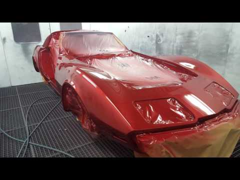 1977 Corvette Stingray C3 Full Restoration