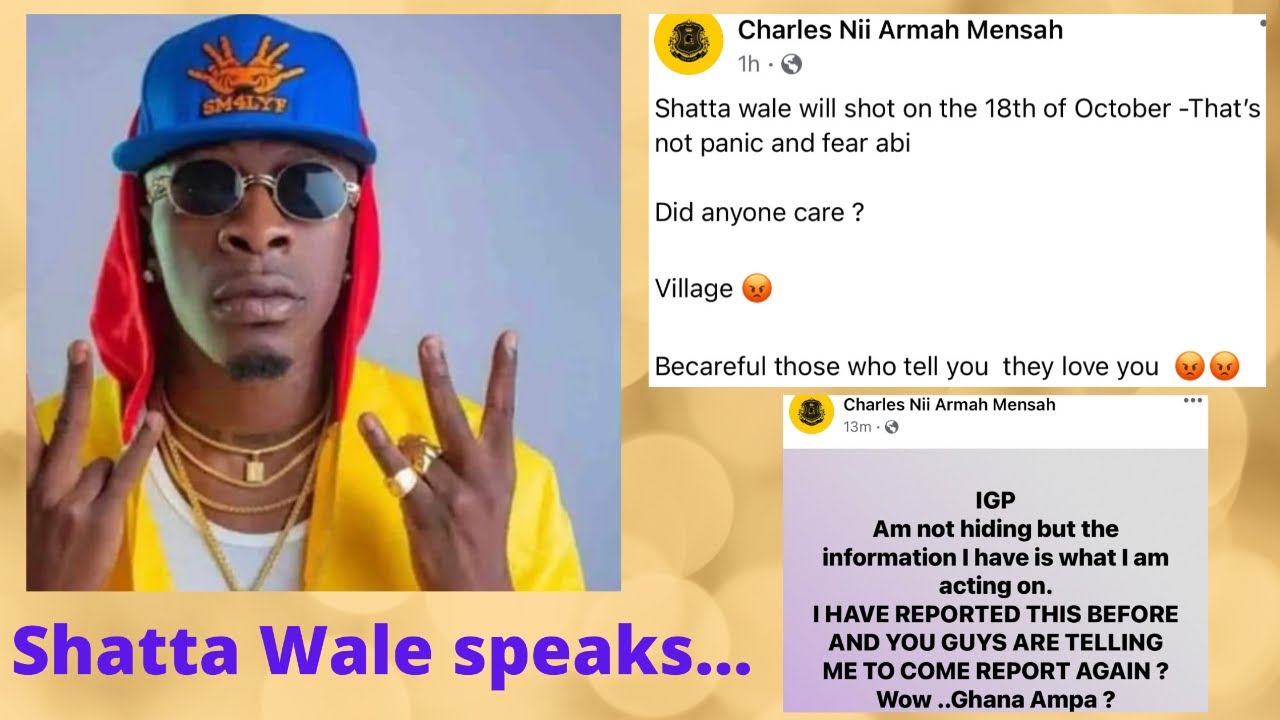 Shatta Wale speaks - Daddy Fred provides updates