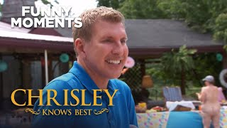Chrisley Knows Best  Todd amp Chase Wish They Could Have Covered Their Eyes  S7 Ep22  USA Network