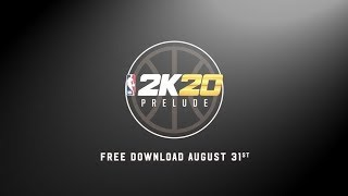 NBA 2K20 NEW NEWS 2K20 PRELUDE RELEASE DATE REVEALED NEW RELEASE DATE FOR NBA 2K20 MYPARK PRELUDE!