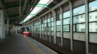 1015Fの日 名鉄1015F鳴海駅通過ミュージックホーンハーフ