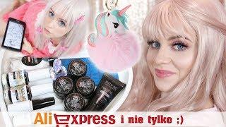 Haul z Aliexpress i nie tylko ❤️ paznokcie, cosplay, gadżety kawaii * Candymona