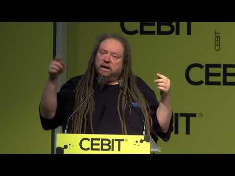 CEBIT | d!talk Keynote Lanier Virtual Reality