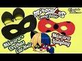 DIY Miraculous: Como fazer Máscara da Ladybug e a Máscara + Orelhas do Cat Noir | Corujices da Lu