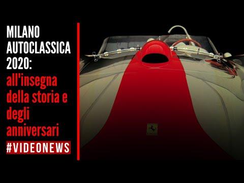 MILANO AUTOCLASSICA 2020   I gioielli più preziosi in mostra #VIDEONEWS