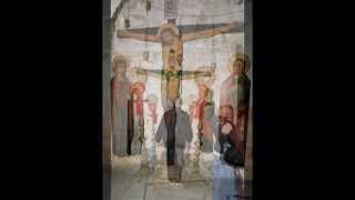 Иерусалим-Монастырь-святого-креста.mpg(Иерусалим Монастырь святого креста На одной из фресок изображен грузинский поэт Шота Руставели, живший..., 2012-03-13T21:17:28.000Z)