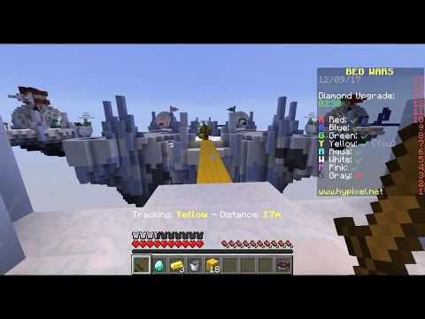 Minecraft bed Wars on Hipixel (With discord!)!
