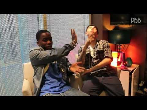 Tinchy Stryder vs. Dappy Interview!