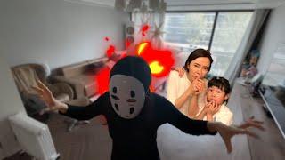 방안에 유령이 숨어있다? 도둑과 가오나시 유령 방탈출 l 유령방을 탈출하라 l 탁자유령 l Ghost in the room l Escape the ghost room