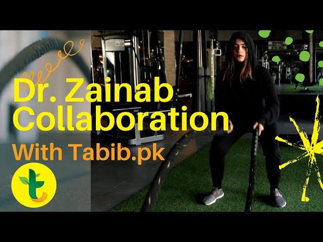Doctor Zainab Pakistan' Top Sports Physiotherapist Certified (USA) has Collaboration With Tabib.pk