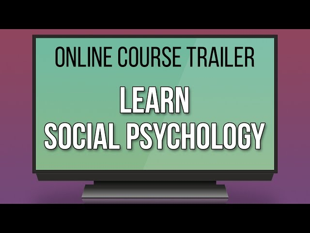 Online course on social psychology is offered by The University of Queensland
