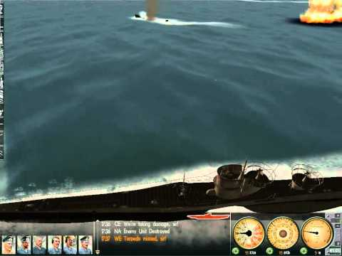 my U-boat killed 2 torpedo boats