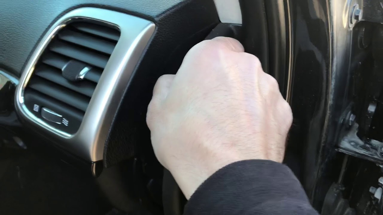 2011-2017 Jeep Grand Cherokee WK2 Blend Door Gear Repair Guide