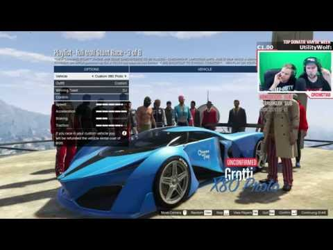 RACES GEMAAKT DOOR HACKERS! (GTA V The Cunning Stunts Stream Highlight)