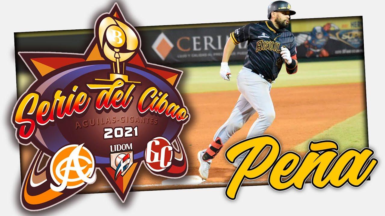 SERIE FINAL - Francisco Peña se crece ante los Gigantes - JUEGO No. 3 (13 ENE. 2021)